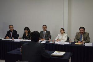 Entrevista a candidatos a ocupar el cargo de Secretario Técnico de la Secretaría Ejecutiva.