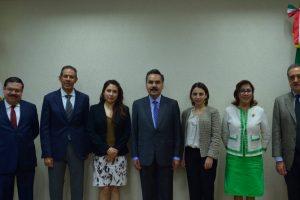 Reunión de coordinación entre el Comité de Participación Ciudadana y el Secretario de la Contraloría del Gobierno del Estado de México, Mtro. Javier Vargas Zempoaltecatl
