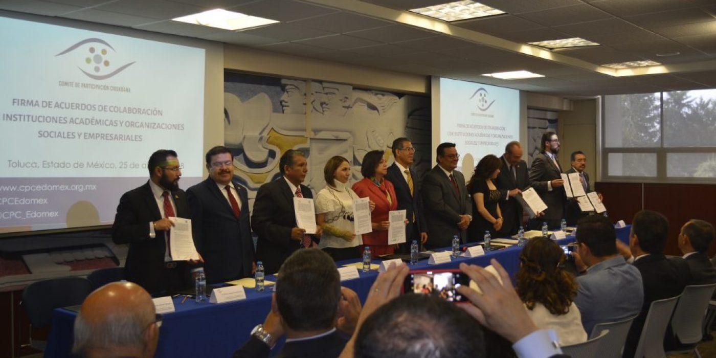 Firma de Acuerdos de Colaboración con Instituciones Académicas y Organizaciones Sociales y Empresariales
