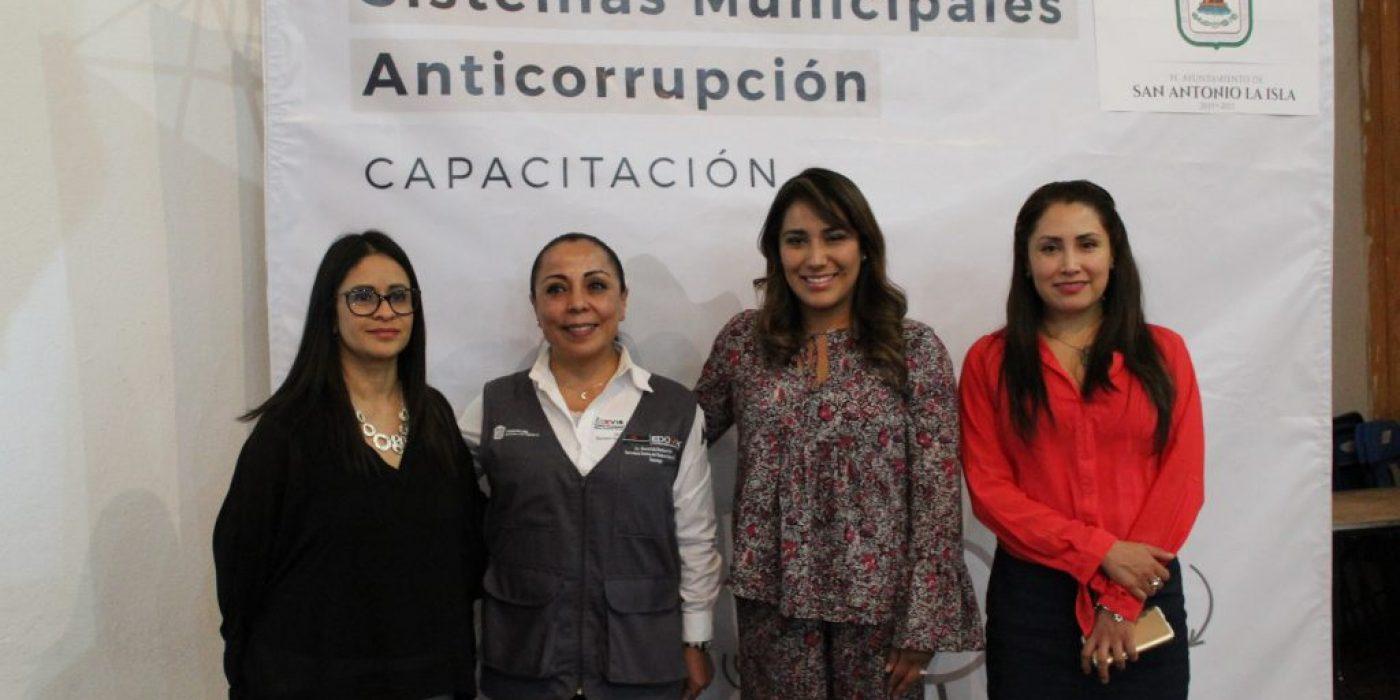 """Capacitación: """"Sistemas Municipales Anticorrupción"""""""