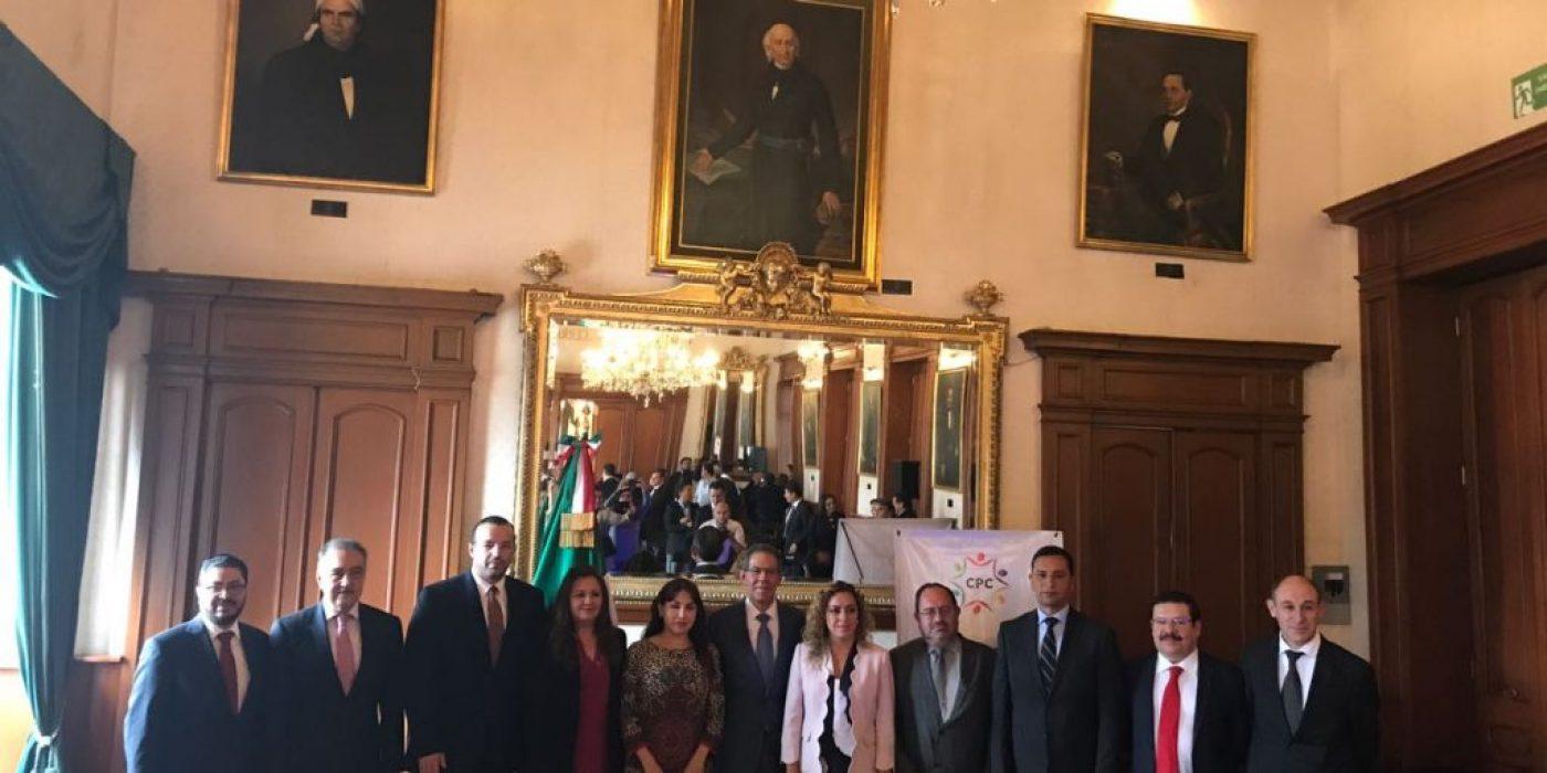 Sesión de Instalación del Comité Coordinador del Sistema Anticorrupción del municipio de Toluca.